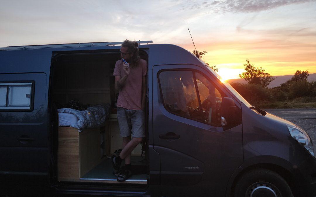 Mag je wonen in een camper?