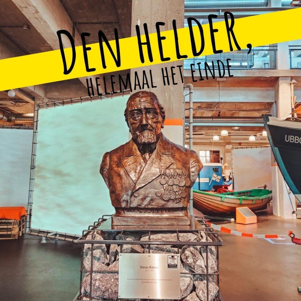 Vanverhalen presenteert de podcast: Den Helder, helemaal het einde! Aflevering 6. Iconen: 'Van maritieme beeldmerken tot held Doris' Nederlandse podcast