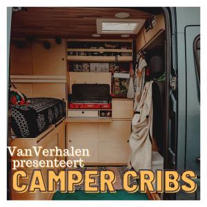 VanVerhalen vanlifestyle en reispodcast presenteert: Camper Cribs. Over de inrichting van campers.