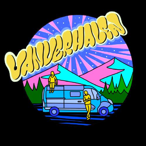 VanVerhalen vanlifestyle en reispodcast logo zonder achtergrond
