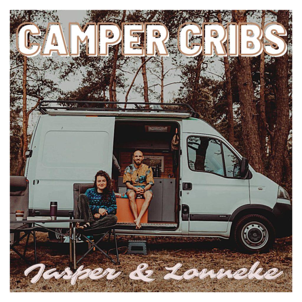 VanVerhalen presenteert de podcast Camper Cribs. een serie over de inrichting van kampeerbusjes. Aflevering 11: Jasper en Lonneke a.k.a mrandmrstravel.nl