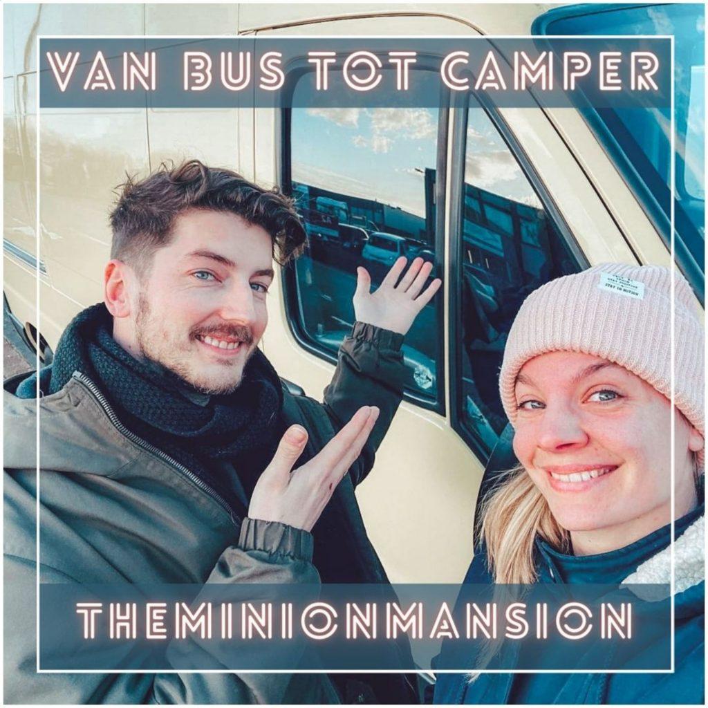 VanVerhalen presenteert de podcastserie Van Bus tot Camper. Een serie over het ombouwen van bestelbus tot campervan. Aflevering 3: Claire en Donny. a.k.a theminionmansion