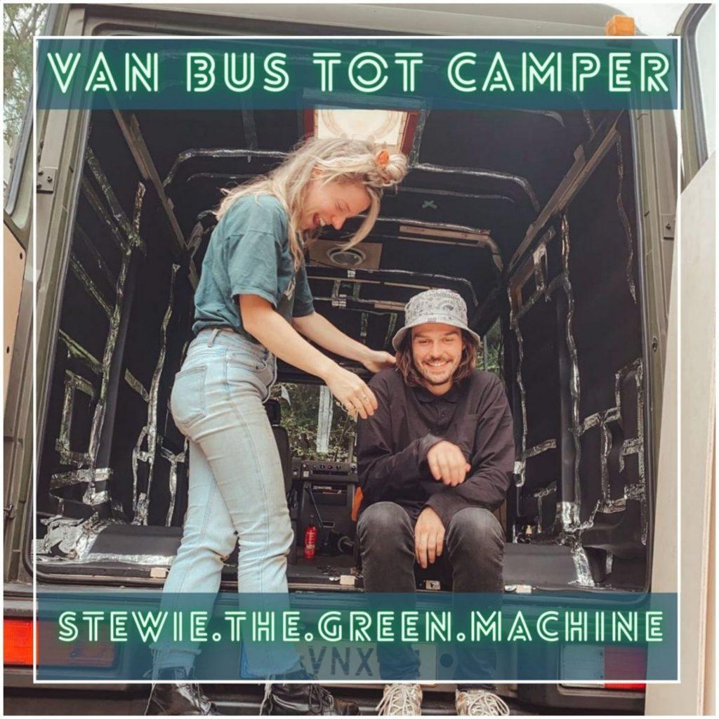 VanVerhalen presenteert de podcastserie Van Bus tot Camper. Een serie over het verbouwen van bestelbus tot campervan. Aflevering 4: Floor en Casper. a.k.a stewie the green machine