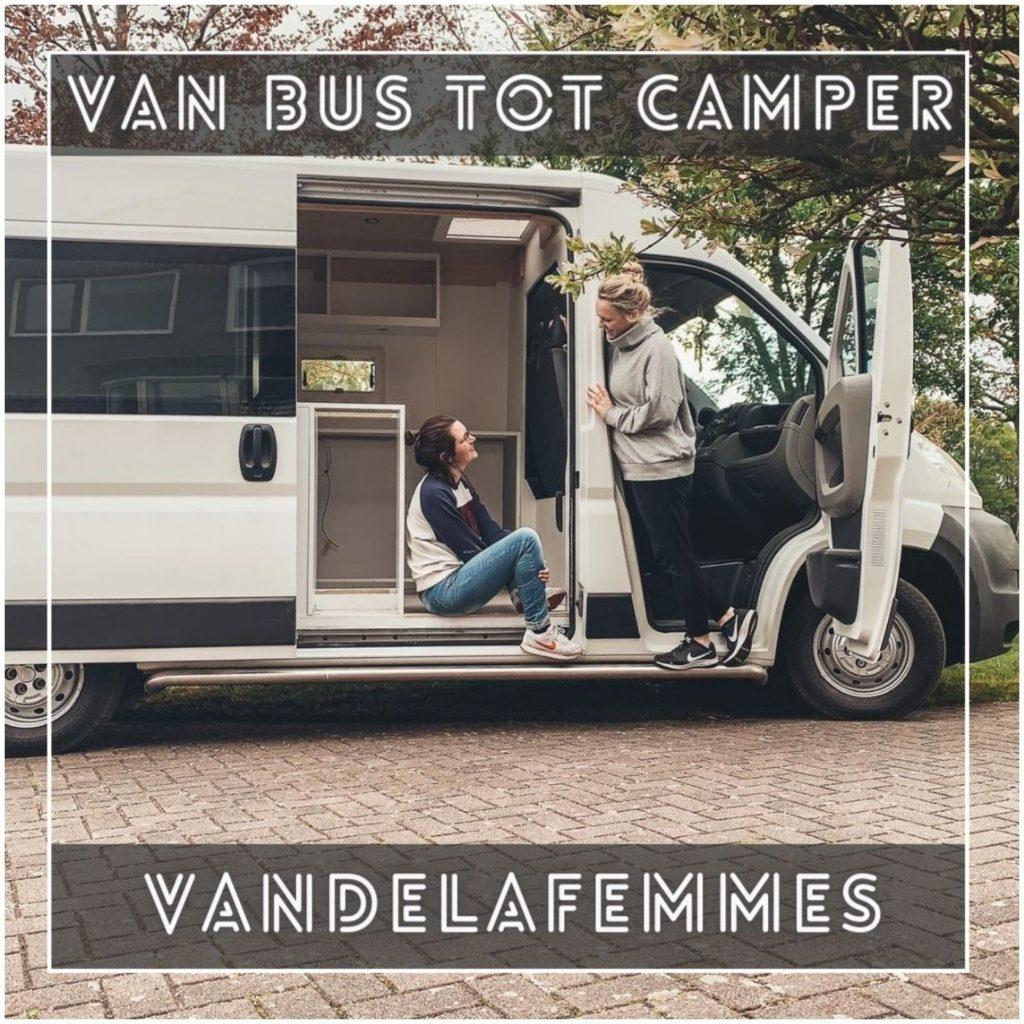 VanVerhalen presenteert de podcastserie Van Bus tot Camper. Een serie over het zelf verbouwen van bestelbus tot campervan. Aflevering 8: Marlijn & Henriëlle a.k.a vandelafemmes