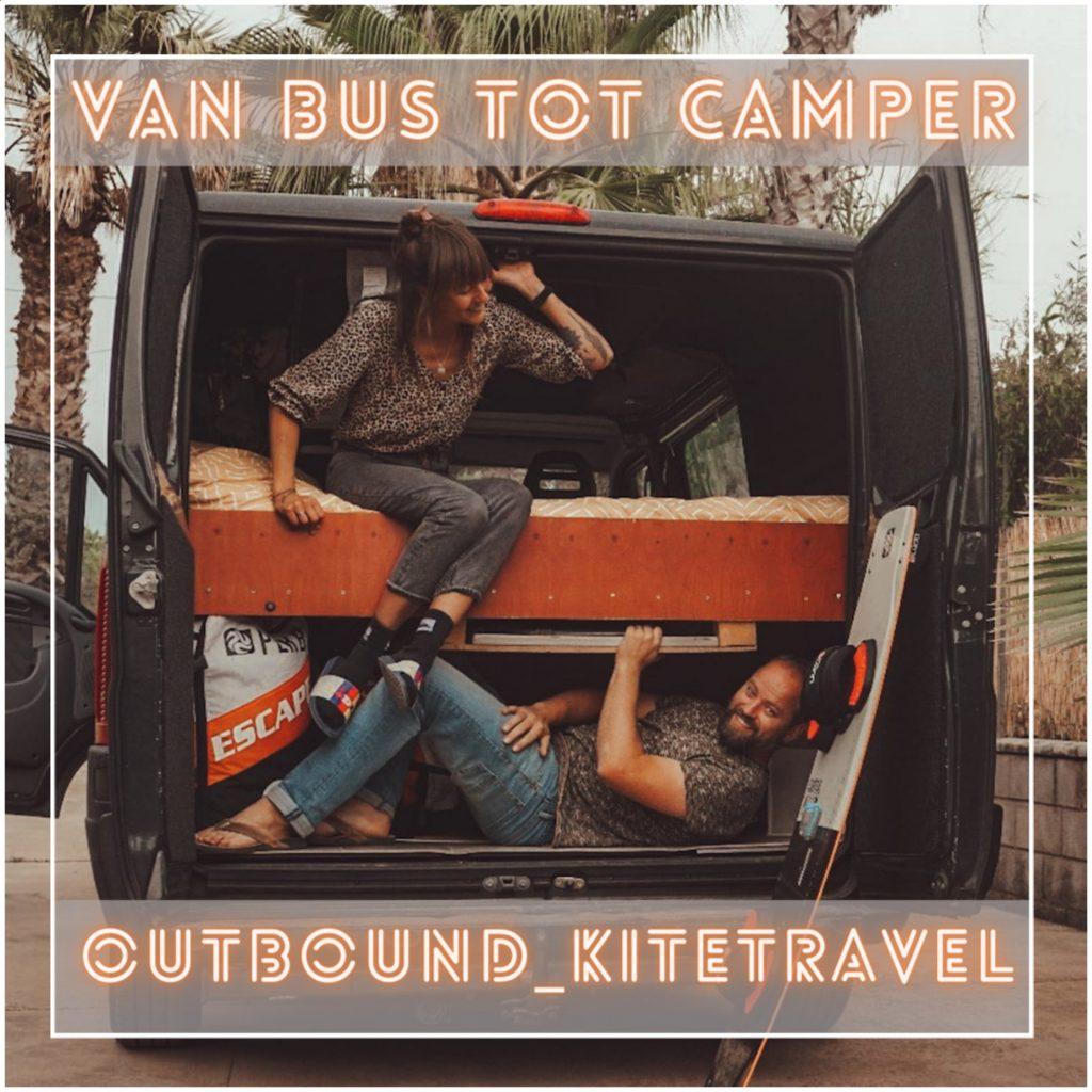 VanVerhalen presenteert de podcastserie Van Bus tot Camper. Een serie over het zelf verbouwen van bestelbus tot campervan. Aflevering 9: Ferry & Eva a.k.a outbound_kitetravel