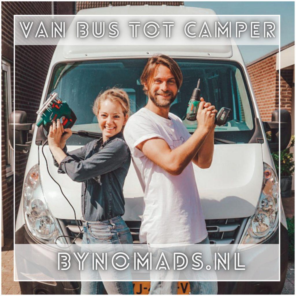 VanVerhalen presenteert de podcastserie Van Bus tot Camper. Een serie over het zelf verbouwen van bestelbus tot campervan. Aflevering 10: Esther & Kay a.k.a bynomades.nl